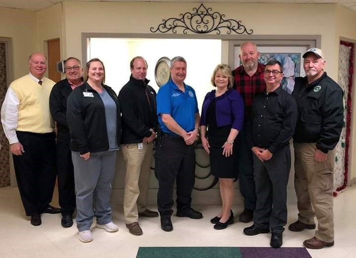 Tyler County Hospital Business of the month by Chamber of Commerce