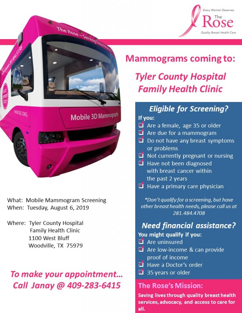 Mobile Mammogram Screening 1