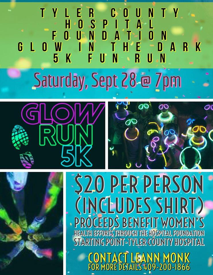 TCH Glow in the Dark 5k Fun Run, Walk or Bike! 4