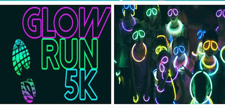 TCH Glow in the Dark 5k Fun Run, Walk or Bike! 3