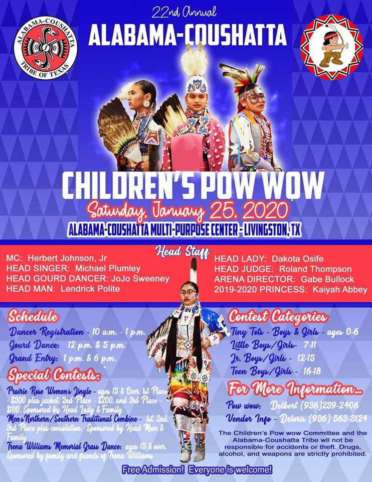 22nd Annual Alabama-Coushatta Children's Pow Wow 4